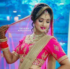 Indian Bridal Photos, Indian Wedding Pictures, Indian Wedding Poses, Bridal Hairstyle Indian Wedding, Indian Bridal Outfits, Wedding Couple Poses, Indian Bridal Hairstyles, Indian Bridal Makeup, Indian Wedding Couple Photography