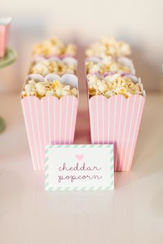 Popcorn in pink popc