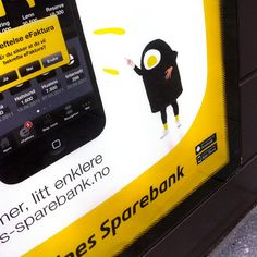 "On 15 June 2011, Sandnes Sparebank launched its new mobile bank. Simple and easily recognisable. ""Get what you point at"", was the message being sent through all the channels. The launch was two-fold, as it was initially aimed at existing customers."