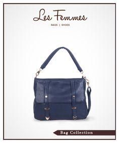 Limma Navy Shoulder Bag 369,000 IDR #Fashion #Women #Bag shoping online find here http://www.lesfemmes.co.id/shoulder-bags/limma-navy-shoulder-bag