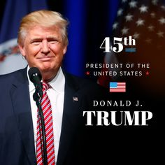 CONGRATULATIONS PRESIDENT @realDonaldTrump FOR BECOMING THE 45TH PRESIDENT OF THE UNITED STATES! #POTUS #InaugurationDay #TrumpInauguration