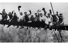 Gökdelen işçilerinin meşhur fotoğrafı.