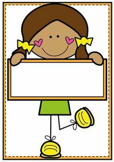 Classroom Labels Classroom Decor {Cute Kids} Fun, bright labels and signs make your classroom engaging and motivating for students! This file includes 8 different kids, each featured on three label sizes full page, two thirds of a page and one thirds of Fall Classroom Decorations, Classroom Signs, Classroom Labels, Drawing For Kids, Art For Kids, Learn Arabic Alphabet, Book Bins, Mouse Crafts, School Frame
