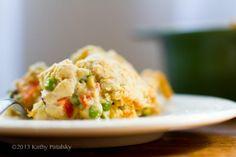 Creamy Cashew Veggie Pot Pie | JuJu Good News
