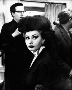 """finestrasulcortile: """" Sophia Loren in I Sequestrati di Altona (1962) """""""