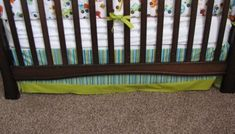 How to Sew Crib Bumpers - The Contractor Chronicles