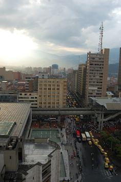 Medellín - Downtown - Berrío Park