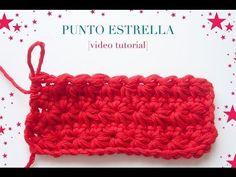 Cómo hacer el punto estrella en ganchillo | How to crochet the star stitch - YouTube