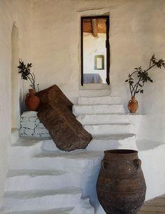 Deborah French's Mykonos house.