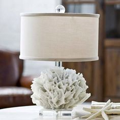 Regina Andrew Lighting White Ribbon Coral Lamp @Layla Grayce #laylagrayce #coastal