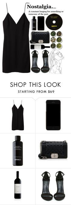 """In The Night"" by aguniaaa ❤ liked on Polyvore featuring T By Alexander Wang, Dolce&Gabbana, BRAD Biophotonic Skin Care, Chanel, Shoe Cult, Tea Collection, NightOut, TheWeeknd, polyvoreeditorial and summerdate"