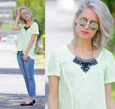 Jeans and Neon l TUDOORNA . COM (by Julia Alcântara) http://lookbook.nu/look/4245653-Jeans-and-Neon-l-TUDOORNA-COM