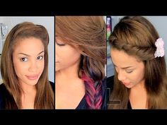EASY Back to School Hairstyles! | AndreasChoice - YouTube