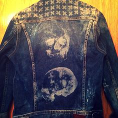 Customised jacket by Megan Montaner in our #PepeJeansCustomStudio :)