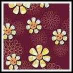 free marigold floral backing paper pack  available in many colours