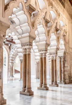 Check out Aljaferia Palace in Zaragoza, Spain by Lorena on Creative Market