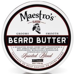 Beard Butter, its the second step in crafting a better you with Beard Care products. Maestros Classic sells Beard Wash and Beard Butter for men. Beard Butter, Beard Wash, Pre Shave, Deep Conditioning Treatment, Beard Grooming, Personal Hygiene, How To Better Yourself, Have Time, Shaving