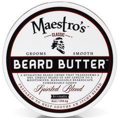 Spirited Blend Beard Butter