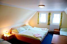 rooms in the hotel U Zeleneho stromu in Janov U Hrenska - Bohemian Switzerland