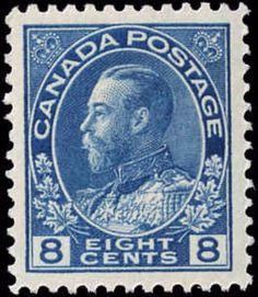 Canada #115, VF, MNH
