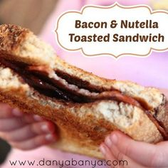 Bacon and Nutella (on toasted wholemeal bread). Nom nom nom...