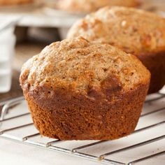Healthy breakfasts for pregnancy: Lemon and Ginger Muffins. Great for morning sickness!