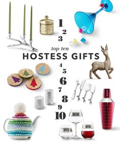 Top 10 hostess gifts from Target. #Holidays #Entertaining #Christmas