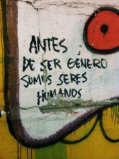 Find images and videos about woman, feminismo and genero on We Heart It - the app to get lost in what you love. Urban Poetry, Graffiti, Street Quotes, Feminist Quotes, Feminist Af, Frases Tumblr, Power Girl, Some Words, Urban Art