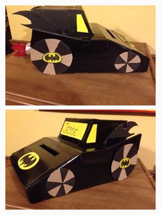 batman valentines day box ideas