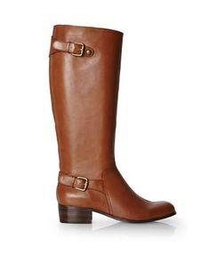 CORSO COMO Francine(?) leather riding Boots $100 (Marshall's) a bit too loud-sounding