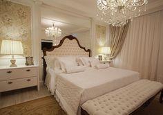 25 Cabeceiras estofadas em capitonê, placas, botonê – veja quartos com modelos lindos! - Decor Salteado - Blog de Decoração e Arquitetura