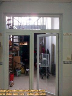 Cửa Đi 2 Cánh Nhựa Lõi Thép   Cửa Nhựa Lõi Thép Giá Rẻ NAM WINDOWS