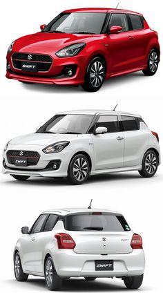 New-Gen Suzuki Swift Unveiled in Japan: India-Debut in New Suzuki Swift, Suzuki Swift Sport, Maruti Suzuki Cars, New Swift, Suzuki News, Revit Family, Ab De Villiers, Kei Car, Car Hd