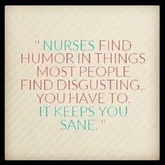 Nurses find humor