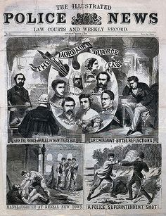Illustrated Police News - 1870.    The best Victorian periodical ever.