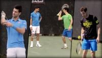 #Djokovic @DjokerNole+#Murray @andy_murray #stunned/#staunen - #spectacular #Trickshots by #Tennis-#Nobody;-D http://www.bild.de/video/clip/trickshot/tennis-trickshots-42380508,auto=true.bild.html  #Trick