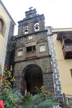 Canary Island - Tenerife, La Orotava, Church of Saint Augustin