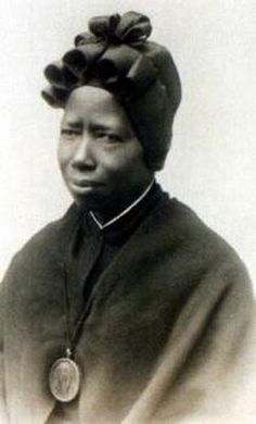 On October 1, 2000, the Catholic Church was enriched with another Saint. Saint Josephine Bakhita, born in Darfur (Sudan) in 1869, died in Schio (Italy) February 8, 1947, was canonized by the Pope in the Vatican, calling her Our Universal Sister. This amazingly strong woman made it from an ill-treated slave to a unifying symbol for Catholics and women.