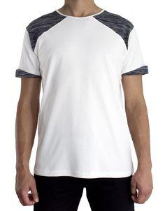 Folded sleeves tee. Shop at www.tiiasaari.com