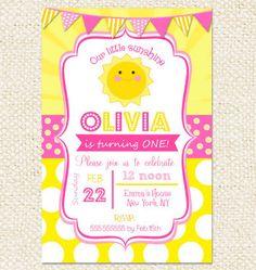 Birthday invitation wording for 3 year old birthday invitations sunshine birthday invitations you are my sunshine invitations filmwisefo