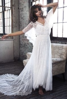 BLANC by Grace Loves Lace Wedding Dress Collection | Bridal Musings Wedding Blog 2
