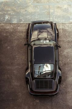 Porsche. A quick look down at classic perfection...JT