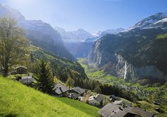 Overlooking Lauterbrunnen, This is my second home. Wengen, Switzerland. Wengen, Switzerland.