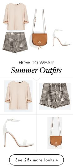 """""""Zara outfit"""" by sara-stylee on Polyvore featuring Zara, outfit, NightOut, zara, summerstyle and girlsnightout"""