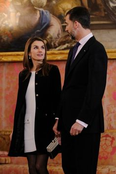 Princess Letizia Photo - Spanish Royals Meet President of Guatemala Fernando Perez Molina