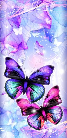 DreamyButterflies wallpaper by NikkiFrohloff - f5 - Free on ZEDGE™