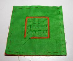 mola, mola, step by step, mola course, mola lessons, mola embroidery, mola instructions
