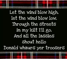 I like when the wind blows HIGH. ;-)