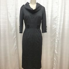 Antonio Melani dress Beautiful retro styled Antonio Melani dress size 0 fits a 4.  gently once or twice. Dry cleaned before selling and will press before shipping. ANTONIO MELANI Dresses Long Sleeve
