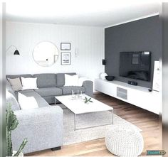Modern Living Room Furniture Design for Your Dream House Living Room Decor 2018, Living Room Paint, Living Room Grey, Home Living Room, Grey Room, Modern Contemporary Living Room, Living Room Modern, Living Room Designs, Small Living